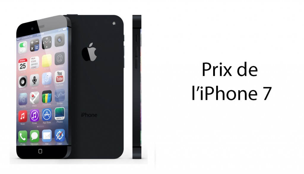 Prix iPhone 7