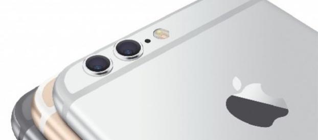 iPhone 7 : double capteur photo et logo éclairé (concept)