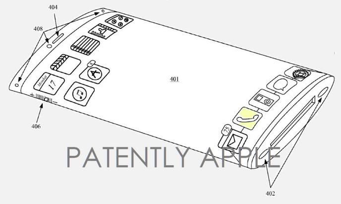 brevet-apple-ecran incurve